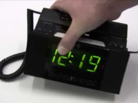 Ge 29298fe1 Corded Bedroom Phone Alarm