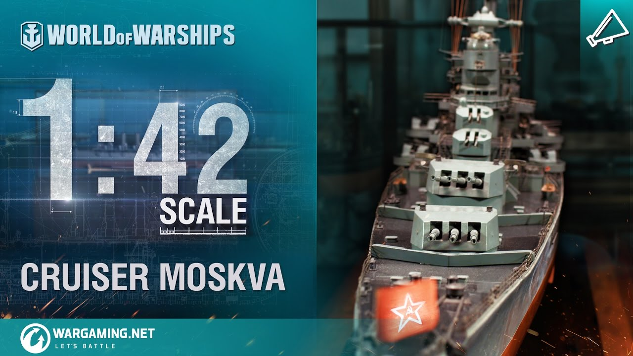 World of Warships – 1:42 Scale: Moskva