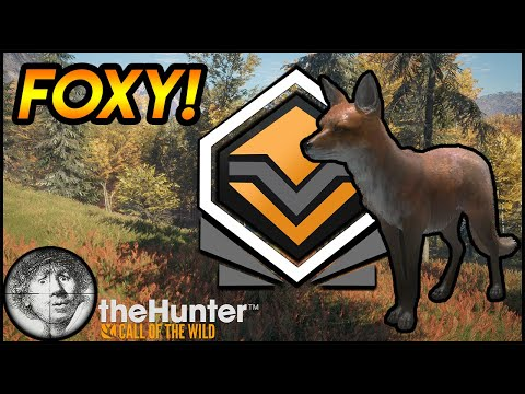 Ambushing A DIAMOND Red Fox! [theHunter: Call Of The Wild 2020]