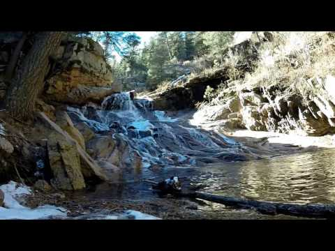 Awesome Waterfall Hike Colorado Springs Seven Falls