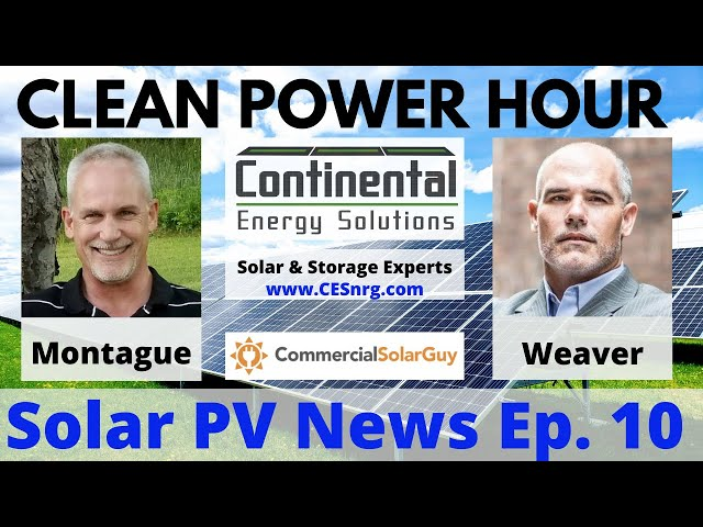 Clean Power Hour Ep. 10 | Covid Knocks 20 Gigawatts Off Global Solar Installations