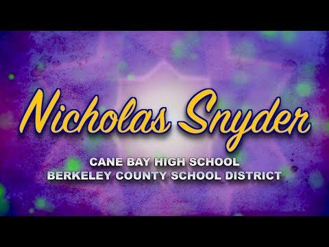 Meet Nicholas Snyder - 2019 Teacher of the Year Finalist