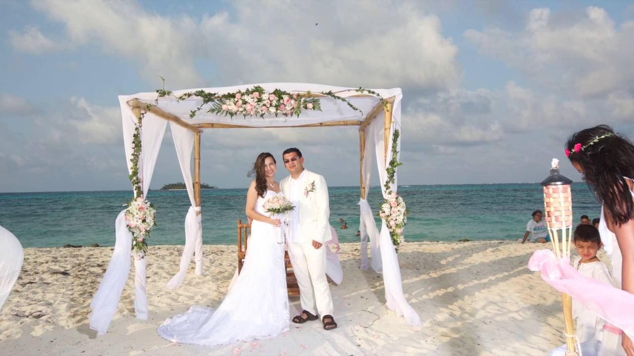 Matrimonio Simbolico San Andres : Mi boda en san andres youtube