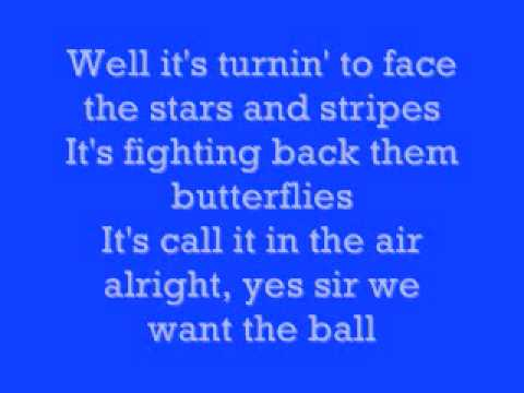 Kenny Chesney The Boys Of Fall Lyrics