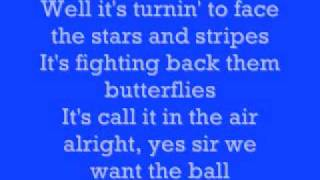 Kenny Chesney- The Boys Of Fall Lyrics