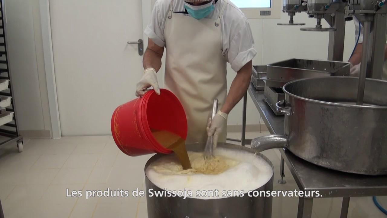 Visite de l'entreprise Swissoja avec Manuel Martinez (GE)