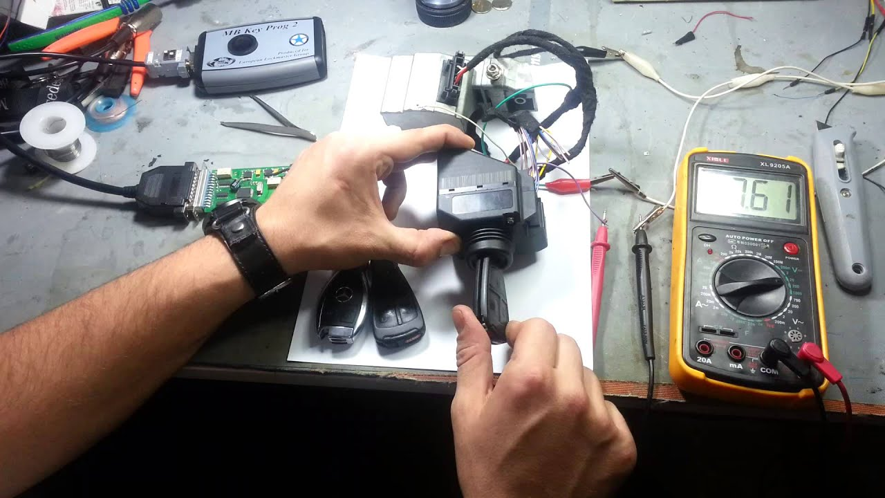 C280 eis repair 2105450308 usa customer funnycat tv for Mercedes benz ignition key troubleshooting