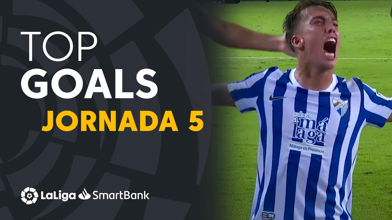 Todos los goles de la jornada 5 de LaLiga SmartBank 2021/2022