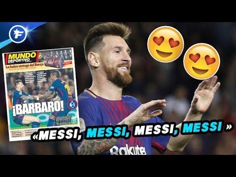 L'Espagne en adoration devant Lionel Messi | Revue de presse