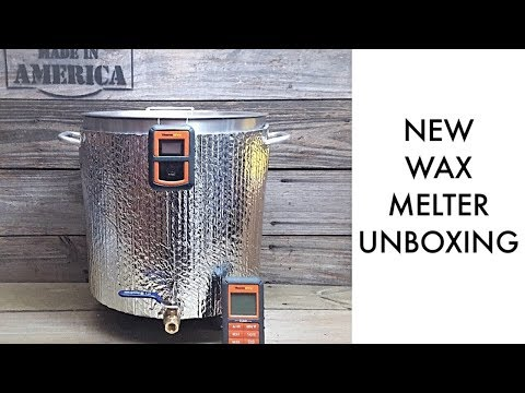 New Wax Melter Unboxing (Unboxing Therapy)
