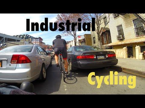 Urban Cycling: Industrial Red Hook, Brooklyn, New York - C-vlog 013