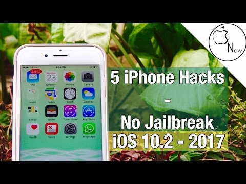 5 iPhone Tweaks Without Jailbreak! - Hacks For iPhone! - Mrwhosetheboss Style Video! - No Jailbreak