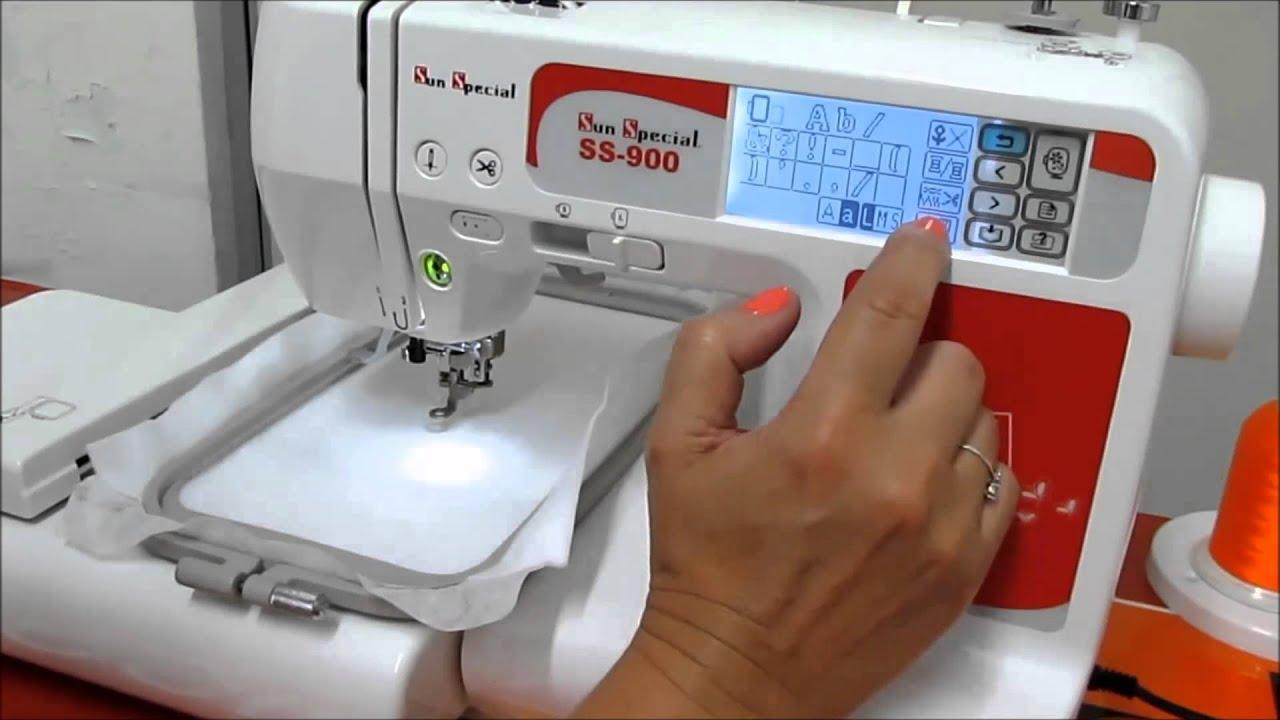 Flawil Máquinas *Máquina de Bordar SS-900* - YouTube