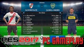 PES 2017 | Boca vs River - Probando el Juego | PC Gameplay