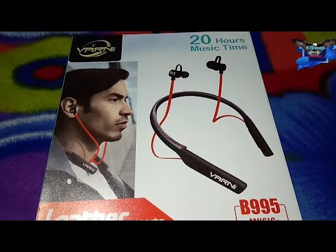 33cbee721c7 Best varni Bluetooth low budget headset 20Hours music Time - YouTube