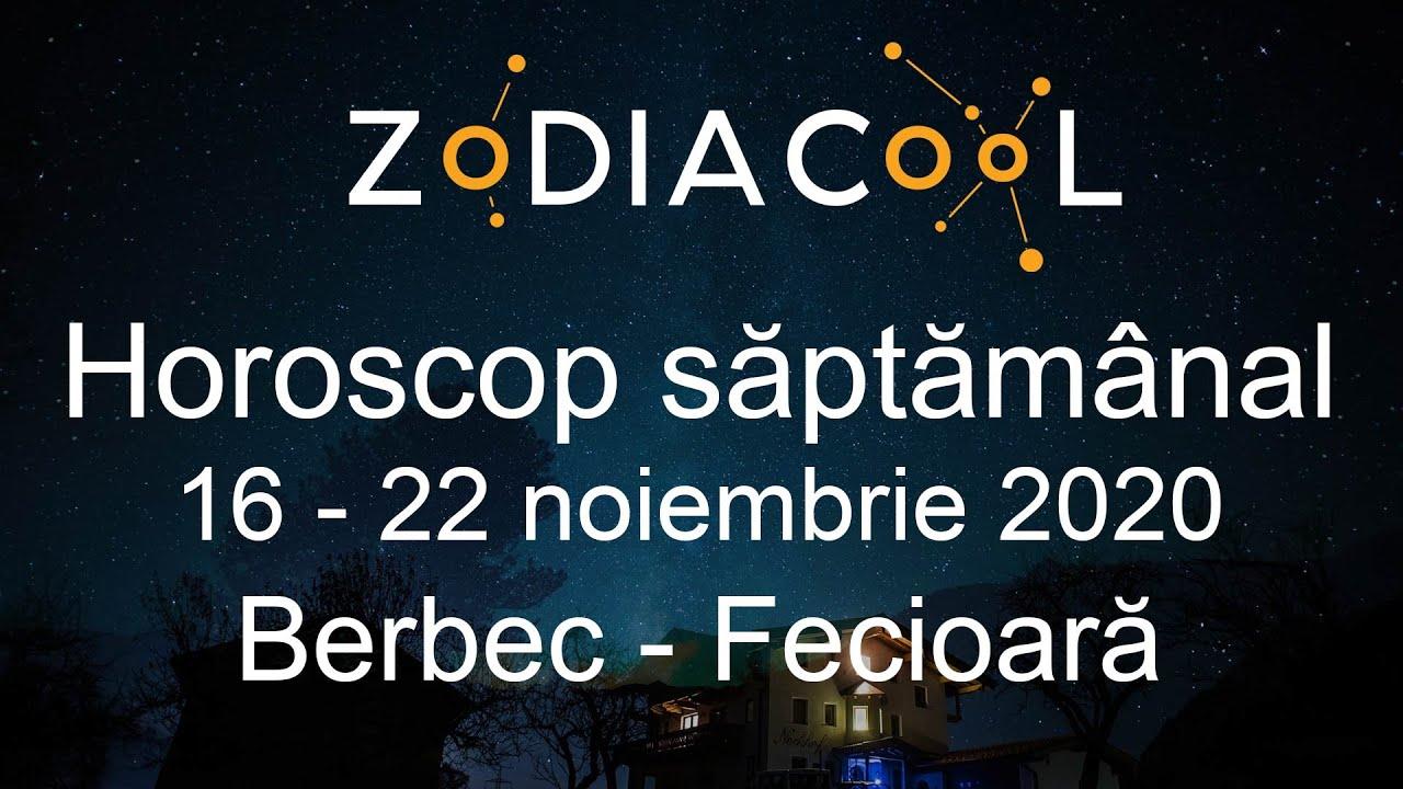 Horoscop saptamana 16 - 22 Noiembrie 2020 pentru Berbec - Fecioara, oferit de ZODIACOOL