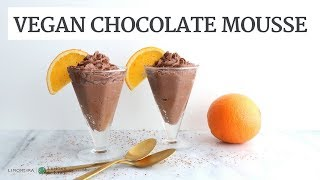 Vegan Chocolate Orange Mousse | Dairy-Free Healthy Dessert | Limoneira