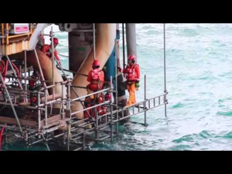 "Serial How To Make The Things: ""How to repair offshore platform 2"" Segment 3 of 4"