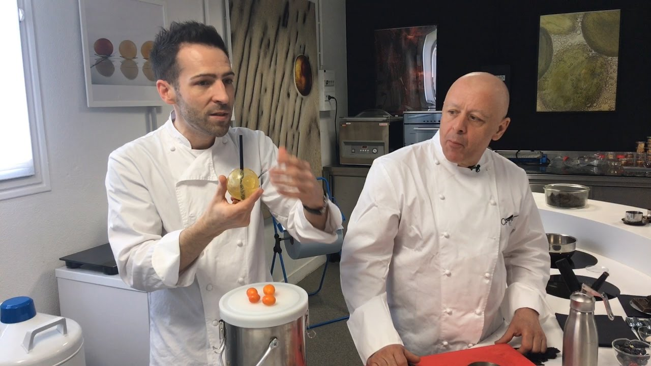 Thierry Marx Et Raphael Haumont Nous Presentent La Cuisine Du