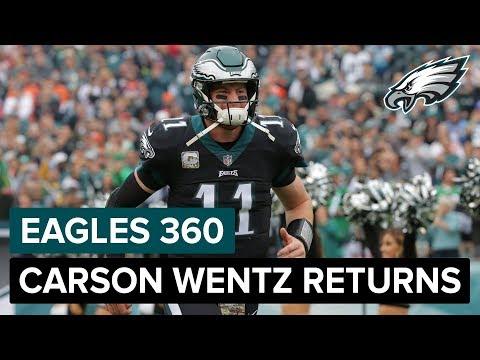 Carson Wentz Returns To The Lineup | Eagles 360 Ep. 15 | Philadelphia Eagles