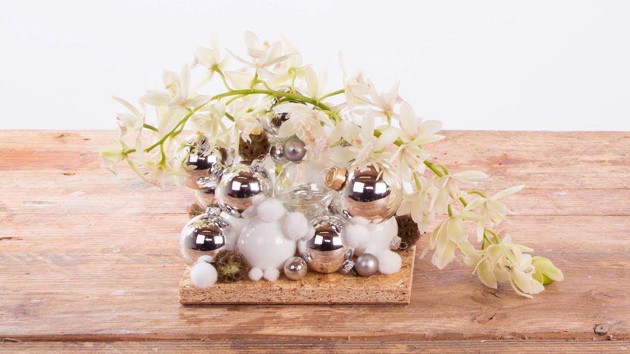 Cascade Cymbidiums For Christmas | Flower Factor How To | Flower ...