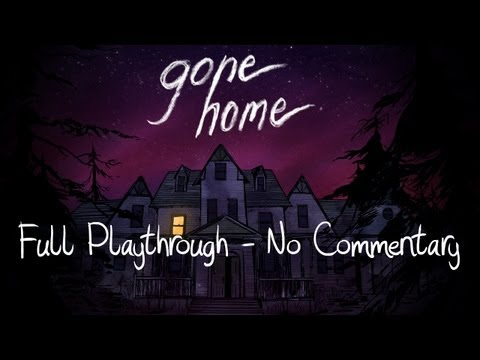 Gone Home (Full Playthrough, No Commentary)