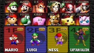 Super Smash Bros - How to Unlock All Characters