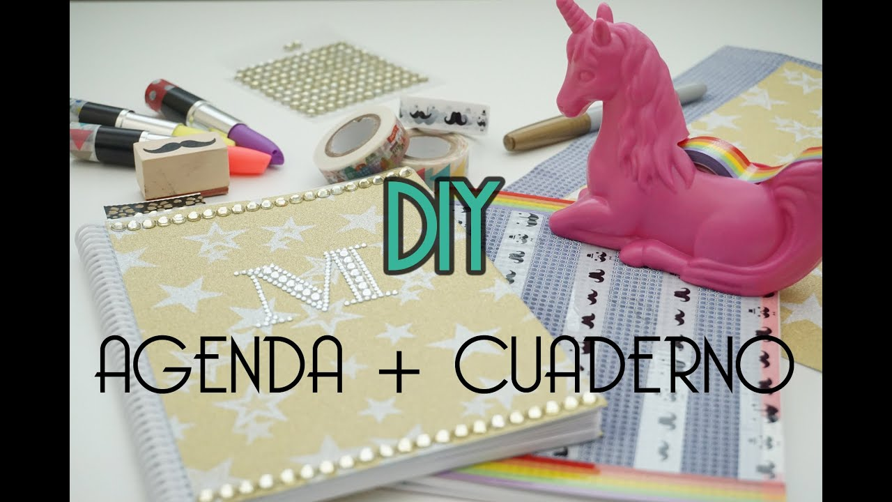 Decorar agendas y cuadernos diy vuelta al cole pretty and ol youtube - Ideas para decorar vestibulos ...