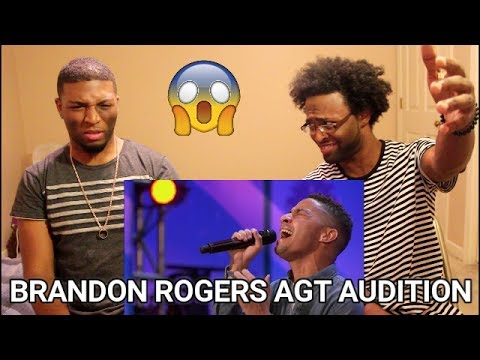 Thumbnail: Brandon Rogers - America's Got Talent 2017 (REACTION) Thank You For Sharing Your Talent (R.I.P.)