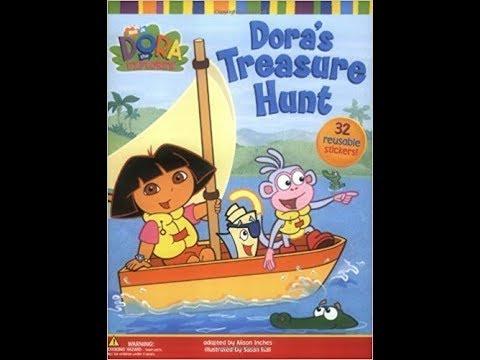 Dora The Explorer S Treasure Hunt Book