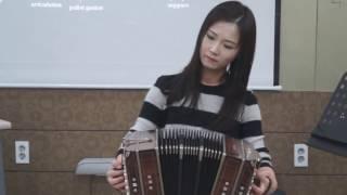 반�네온 �어진  bandoneon solo EoJin Lee - Mi refugio