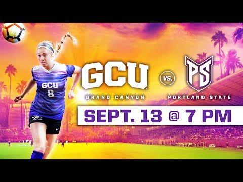 GCU Women\'s Soccer vs. Portland State Sept 13, 2018