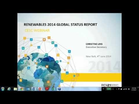 REN21 Renewables 2014 Global Status Report: Another Record Year for Renewables