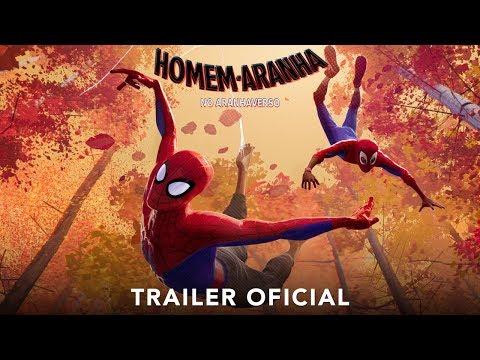 HOMEM-ARANHA NO ARANHAVERSO  Trailer  dublado  Em breve nos cinemas