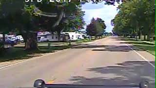 Dashcam footage shows police pursuit of driver in fatal crash