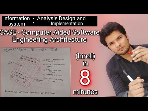 Computer Aided Software Engineering (CASE) Architecture In Hindi || Advantages And Disadvantages