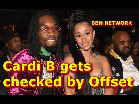 Cardi B gets Checked by Offset