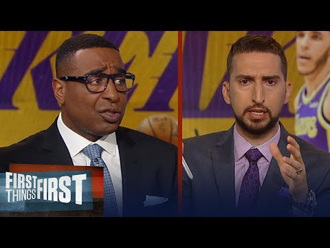 Should the Lakers trade for Bradley Beal? Nick & Cris weigh in | NBA | FIRST THINGS FIRST