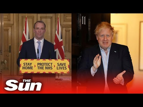 Dominic Raab says Boris Johnson continues to lead the government while in hospital with coronavirus