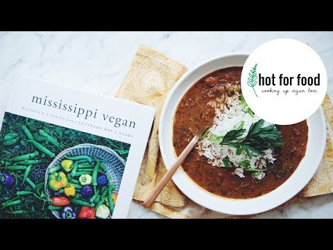 classic gumbo (The Mississippi vegan cookbook) | hot for food's test kitchen