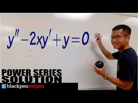 POWER SERIES SOLUTION TO DIFFERENTIAL EQUATION