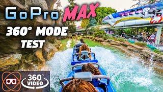 [5K 360] Testing GoPro MAX 360 Mode on Best Disneyland Resort Coasters