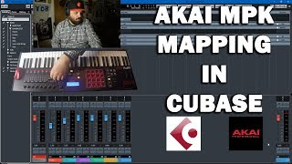 Mapping the Akai MPK MIDI Controller in Cubase 9.5
