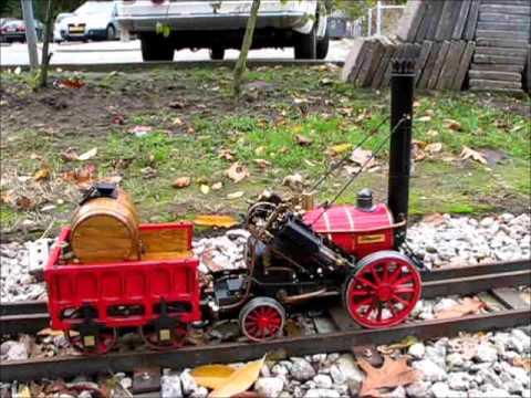 O S  Rocket Live Steam on Coal