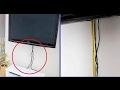 Ideas para ocultar y guardar esos feos cables