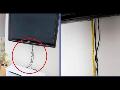 Ideas Para Ocultar Y Guardar Esos Feos Cables Youtube