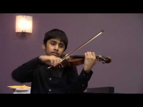 Bach Am Concerto III Violin Performance