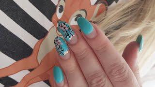 Дизайн ногтей для начинающих мастеров Маникюр на короткие ногти Шулунова Дарья