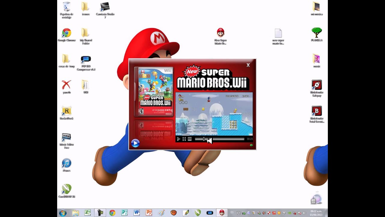 Como Descargar El New Super Mario Bros Wii Para Pc Portable By Joey Wiler Omg