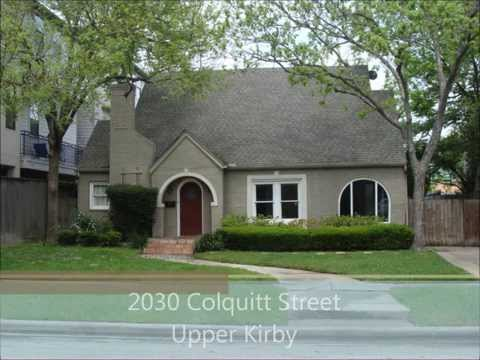 2030 Colquitt Street, Houston, TX 77098 - In The Upper Kirby District!